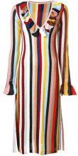 - Marco De Vincenzo - Abito a righe - women - Polyamide/Polyester/Acetate - 42 - Multicolore