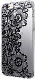 Custodia Cover per iPhone 6 / 6s , DDLBiz® copertura dura di plastica fiore floreale trasparente Custodia per iPhone 6 / 6s