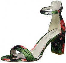 Kenneth Cole Lex, Sandali con Cinturino alla Caviglia Donna, Multicolore (Red Multi), 38 EU