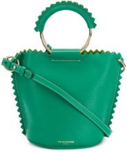 Sara Battaglia - bucket-style tote bag - women - Calf Leather - OS - GREEN