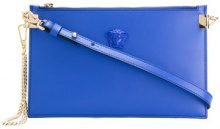 Versace - Medusa clutch - women - Leather - OS - BLUE
