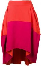 Antonio Berardi - draped skirt - women - Acetate/Rayon - 42, 44 - Giallo & arancio