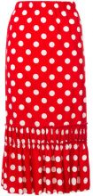 Comme Des Garçons Vintage - Gonna a pois - women - Cotton - S - RED