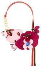 Marni - Collana con fiori - women - Calf Leather - OS - PINK & PURPLE