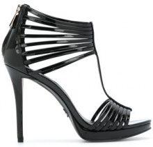 - Michael Michael Kors - Leann T - bar sandals - women - pelle/gomma - 7, 7.5, 8.5 - di colore nero