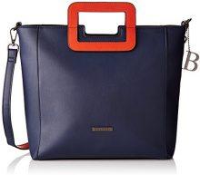 Bulaggi Redon Shopper - cartella Donna, Blau (Dunkel Blau), 29x12x29 cm (B x H T)