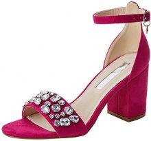 XTI 30755, Scarpe con Cinturino alla Caviglia Donna, Rosa (Fucsia), 40 EU