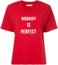 Nobody Denim - Nobody Is Perfect Tee Flame - women - Cotton - M - RED