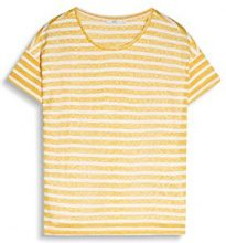 edc by ESPRIT 057cc1k010, T-Shirt Donna, Multicolore (Sunflower Yellow), 34 (Taglia Produttore: X-Small)