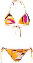 Emilio Pucci - Bikini stampato - women - Polyamide/Spandex/Elastane - 38, 40 - Multicolore