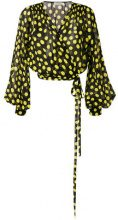 Attico - polka dot blouse - women - Silk - 38, 36, 40 - Nero