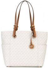 Michael Michael Kors - Jet Set large tote - women - Polyester/Polyurethane - One Size - NUDE & NEUTRALS