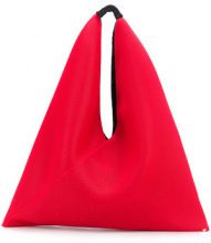 Mm6 Maison Margiela - hobo tote - women - Leather/Polyester - OS - RED