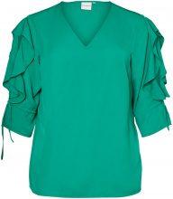 JUNAROSE Woven Blouse Women Green