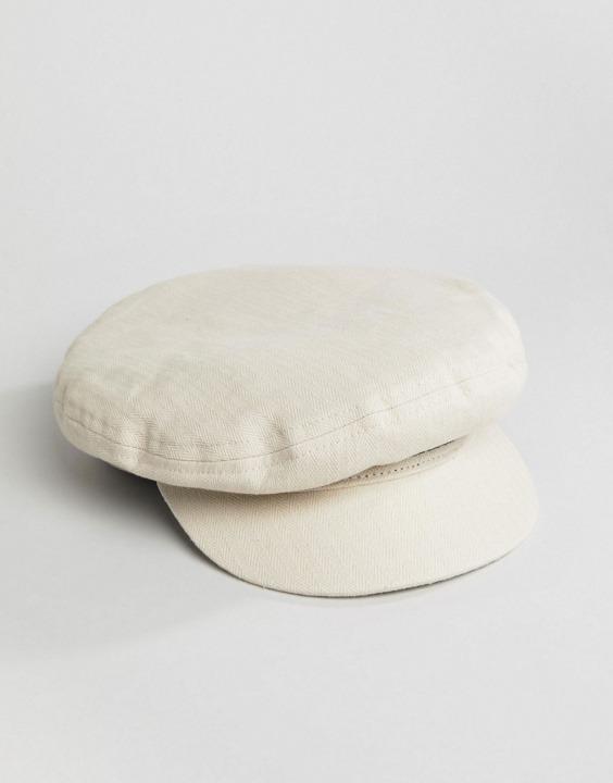 Berretto baker boy bianco sporco  0053e52feb9f