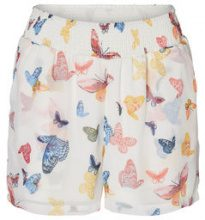 VERO MODA Butterfly Shorts Women White