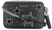 Michael Michael Kors - Borsa a tracolla 'Ginny' - women - Calf Leather - One Size - BLACK