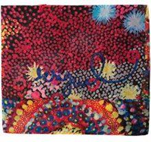 Desigual Foulard_Starfish Rectangle, Sciarpa Donna, Rosso (Red 3074), Unica (Taglia Produttore: U)