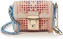 Trussardi Jeans Saint Tropez, Borsa a Tracolla Donna, Rosa (Pink Light), 17x13x7 cm