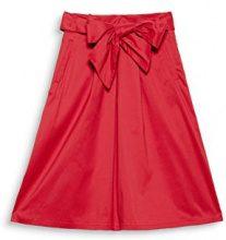 ESPRIT Collection 998eo1d800, Gonna Donna, Rosso (Berry Red 625), 40 (Taglia Produttore: 34)