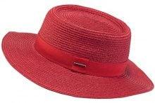 Barts Crispo Hat Cappello Panama, Donna, Rosso, One Size