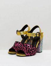 ASOS - HAZARDOUS - Sandali decorati con tacco