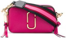 Marc Jacobs - Borsa a tracolla Snapshot - women - Leather - One Size - Rosa & viola