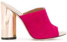 Marc Ellis - Mules con tacco largo - women - Leather - 35.5, 36, 36.5, 37, 38, 38.5, 39, 40 - PINK & PURPLE