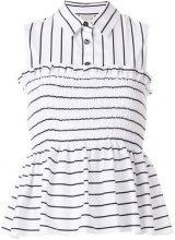 Pinko - Top senza maniche - women - Cotton - 40, 44 - WHITE