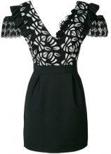 Pinko - Vestito ricamato - women - Cotton/Polyamide/Polyester/Spandex/Elastane - 40, 42, 44 - BLACK