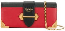 Prada - Borsa a spalla - women - Leather - OS - Rosso