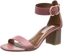 Ted Baker Qarvaa, Sandali con Cinturino Alla Caviglia Donna, Rosa (Pink #ffc0cb), 37 EU