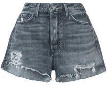 Grlfrnd - Cindy shorts - women - Cotton - 28, 29 - GREY