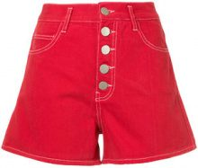 Vale - Shorts 'Vines' - women - Cotone - 24, 30 - RED