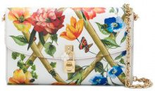 Dolce & Gabbana - Clutch 'Dolce' - women - Leather - OS - WHITE