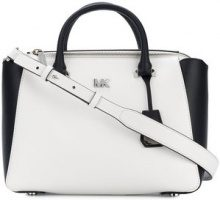 Michael Michael Kors - Nolita medium satchel - women - Leather - One Size - WHITE