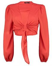 Molly Tie Wrap Front Blouse