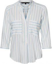 VERO MODA Striped 3/4 Sleeved Shirt Women White