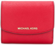 Michael Michael Kors - Portacarte 'Ava' - women - Leather - OS - RED