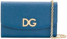 Dolce & Gabbana - Clutch monogram - women - Calf Leather - One Size - BLUE
