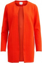 VILA Simple Cardigan Women Orange