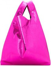 Mm6 Maison Margiela - Borsa Tote - women - Polyester/Polyamide - One Size - PINK & PURPLE
