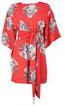 Wendy Tie Waist Kimono Sleeve Shift Dress