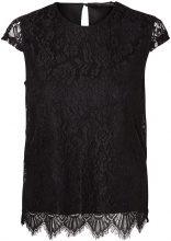 VERO MODA Lace Short Sleeved Blouse Women Black