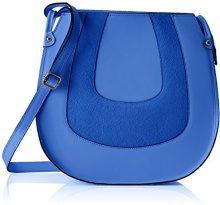 Chicca Borse 8607, Borsa a Spalla Donna, Blu (Blue), 30x30x11 cm (W x H x L)
