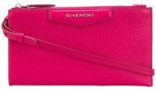 Givenchy - Mini pouch 'Antigona' - women - Leather - One Size - Rosa & viola