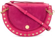 See By Chloé - small Kriss crossbody bag - women - Leather - OS - PINK & PURPLE