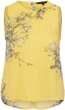 VERO MODA Flower Sleeveless Top Women Yellow