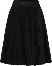 SELECTED Pleated - Midi Skirt Women Black