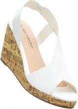 Sandalo con zeppa (Bianco) - bpc selection